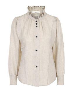 Isabel Marant Étoile | Блуза С Защипами И Воротником-Стойкой