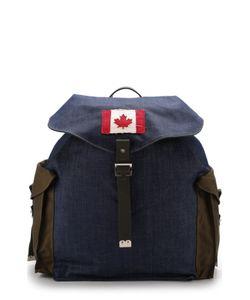 Dsquared2 | Текстильный Рюкзак С Клапаном