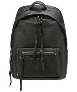 Mcq Alexander Mcqueen | Кожаный Рюкзак С Внешним Карманом На Молнии Mcq