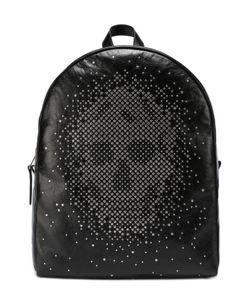 Alexander McQueen | Кожаный Рюкзак С Декоративной Отделкой