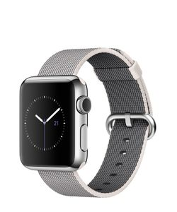 Apple | Watch 38mm Silver Stainless Steel Case With Woven Nylon