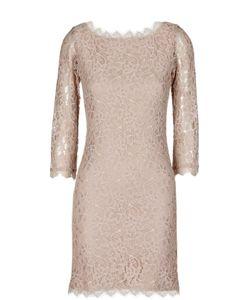 Diane Von Furstenberg | Кружевное Платье На Молнии С V-Образным Вырезом Сзади