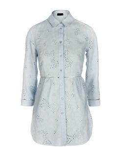 Ermanno-Ermanno Scervino | Кружевная Льняная Блуза