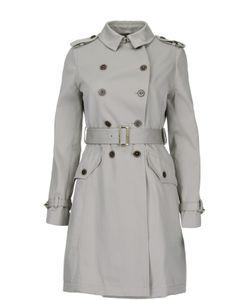 Fay | Приталенное Двубортное Пальто С Поясом
