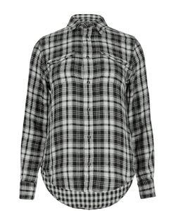 Polo Ralph Lauren | Хлопковая Блуза В Клетку С Нашивными Карманами