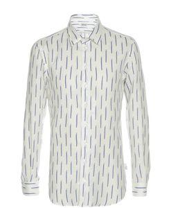Armani Collezioni | Льняная Рубашка С Принтом