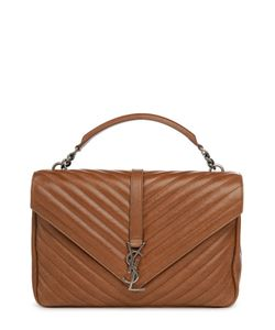 Saint Laurent | Сумка Monogramme College Bag Из Стеганой Кожи