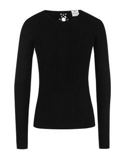 Ftc | Кашемировый Пуловер Фактурной Вязки Со Шнуровкой