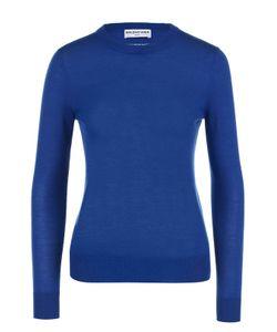 Balenciaga | Кашемировый Пуловер С Круглым Вырезом