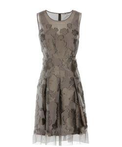 Elie Tahari | Приталенное Платье С Вышивкой