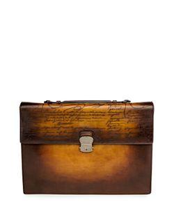 Berluti Bags | Кожаный Портфель С Ручным Нанесением Патинирования