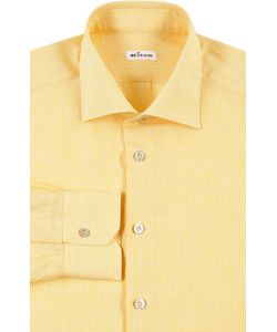 Kiton | Рубашка С Воротником Кент В Мелкую Клетку