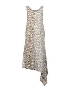 Joseph | Шелковое Платье Миди Без Рукавов С Асимметричным Подолом
