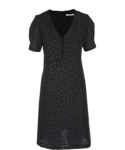 Gerard Darel | Приталенное Платье С V-Образным Вырезом