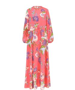 Diane Von Furstenberg | Шелковое Платье-Макси С Ярким Принтом