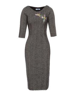 Blumarine | Платье-Футляр С Укороченным Рукавом