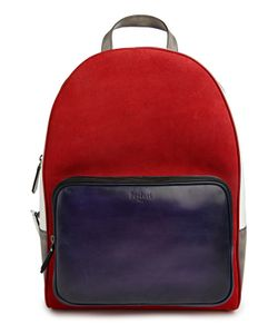 Berluti Bags | Рюкзак Color Block С Внешним Карманом
