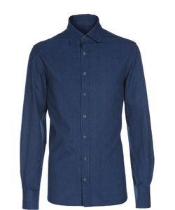 Andrea Campagna | Хлопковая Рубашка С Воротником Кент