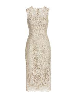 Dolce & Gabbana | Приталенное Кружевное Платье