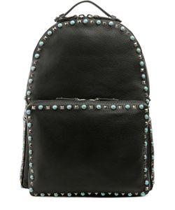 Valentino | Кожаный Рюкзак С Металлической Отделкой