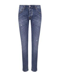 2 Men | Зауженные Джинсы С Декоративными Потертостями Jeans