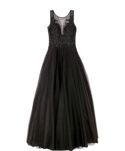 Basix Black Label | Платье-Макси Без Рукавов С Вышивкой