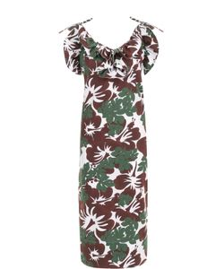 Rosie Assoulin | Платье С Цветочным Принтом И Оборками