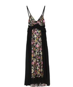 3.1 Phillip Lim | Шелковое Платье С Цветочными Вставками