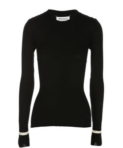 Maison Margiela | Приталенный Пуловер С Разрезами И Ремнями Martin Margiela