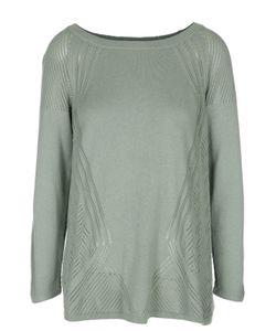 TSE | Пуловер С Перфорацией И Вырезом-Лодочка