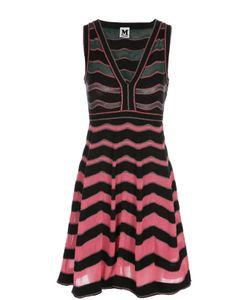 Missoni | Мини-Платье В Полоску С V-Образным Вырезом M