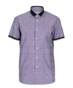 Brioni | Рубашка В Клетку С Короткими Рукавами