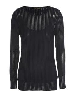 Escada | Полупрозрачный Пуловер Фактурной Вязки С Круглым Вырезом