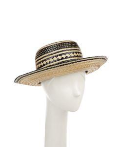 YOSUZI | Соломенная Шляпа С Декоративными Помпонами