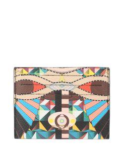 Givenchy | Кожаный Футляр Для Кредитных Карт С Принтом
