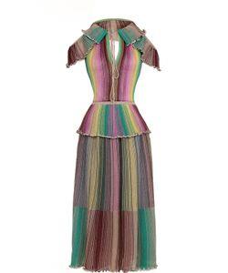 Missoni | Плиссированное Платье С Открытыми Плечами И Спиной M