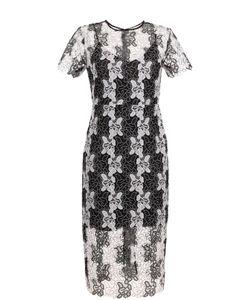 Diane Von Furstenberg | Приталенное Кружевное Платье-Миди