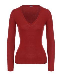 Malo   Облегающий Пуловер С V-Образным Вырезом