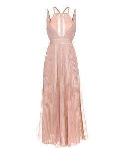 Elie Saab | Плиссированное Платье С Открытой Спиной