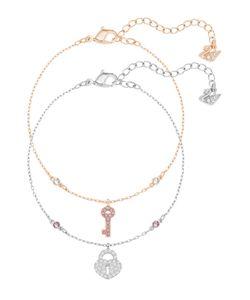 Swarovski   Комплект Браслетов Crystal Wishes Key