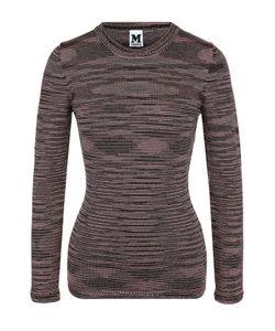 Missoni | Пуловер С Круглым Вырезом И Металлизированной Нитью M