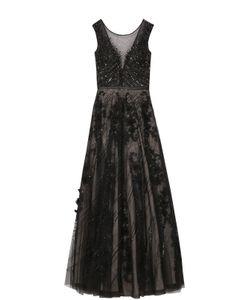 Basix Black Label | Приталенное Платье-Макси С Вышивкой