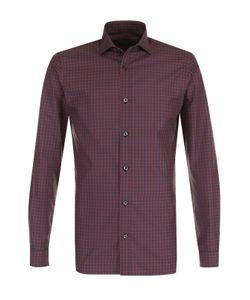 Z Zegna | Хлопковая Рубашка В Клетку