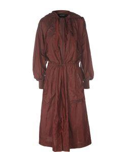 Isabel Marant | Удлиненная Куртка-Ветровка С Поясом