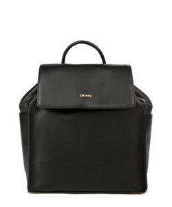 DKNY | Кожаный Рюкзак С Логотипом Бренда