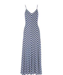Polo Ralph Lauren | Платье-Макси На Бретельках В Контрастную Полоску