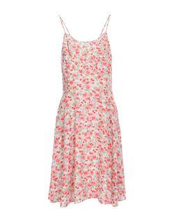 Polo Ralph Lauren | Льняное Приталенное Мини-Платье С Цветочным Принтом