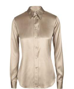 Ralph Lauren | Шелковая Приталенная Блуза
