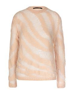 Roberto Cavalli | Полупрозрачный Пуловер С Круглым Вырезом