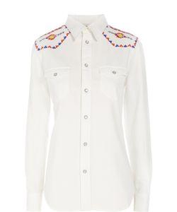 Polo Ralph Lauren | Приталенная Блуза С Накладными Карманами И Вышивкой